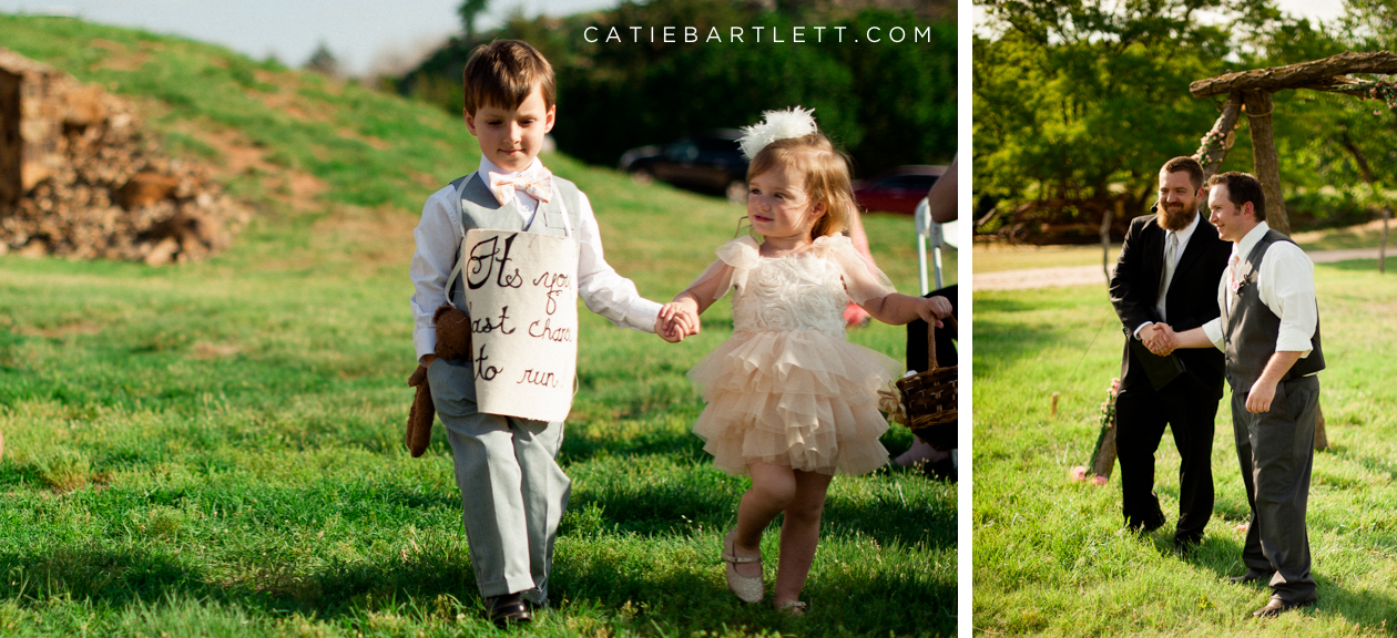 It S Your Last Chance To Run Ring Bearer And Flower Oklahoma Wedding Ideas Photographers