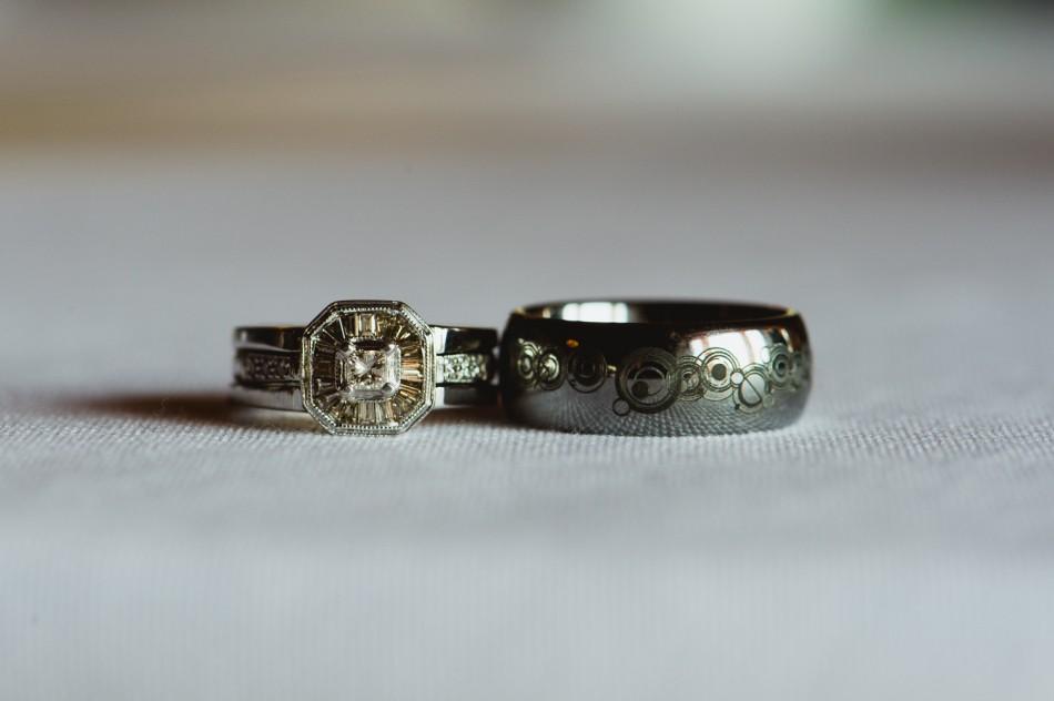 ... custom doctor who wedding rings austin texas wedding photographers-1