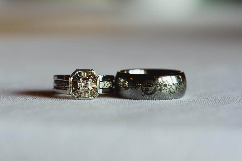 6 custom doctor who wedding rings austin texas wedding