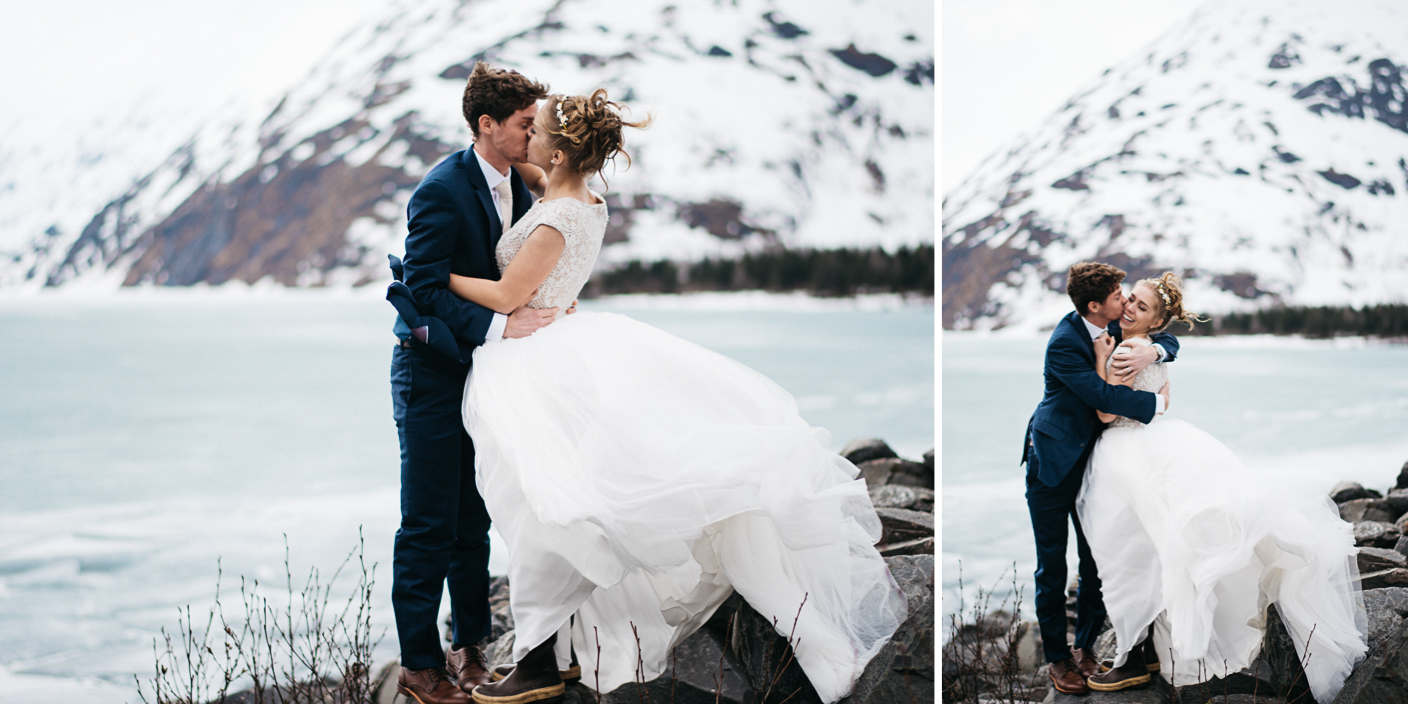 Outdoor Winter Wedding Photography: 21. Anchorage Alaska Wedding Photographers Winter Weddings